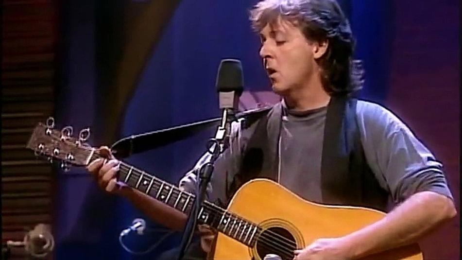 Paul McCartney live at MTV Unplugged