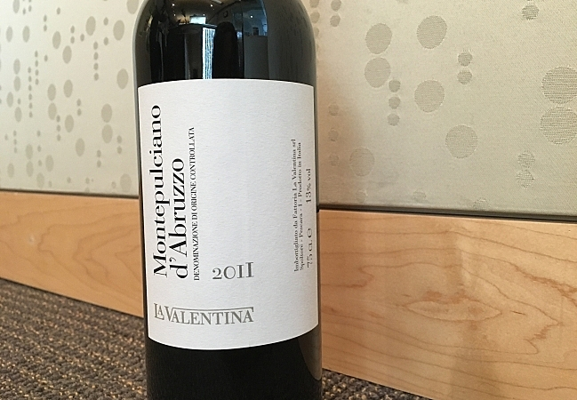 Eating and Drinking with Solo Vino's Chuck Kanski: La Valentina