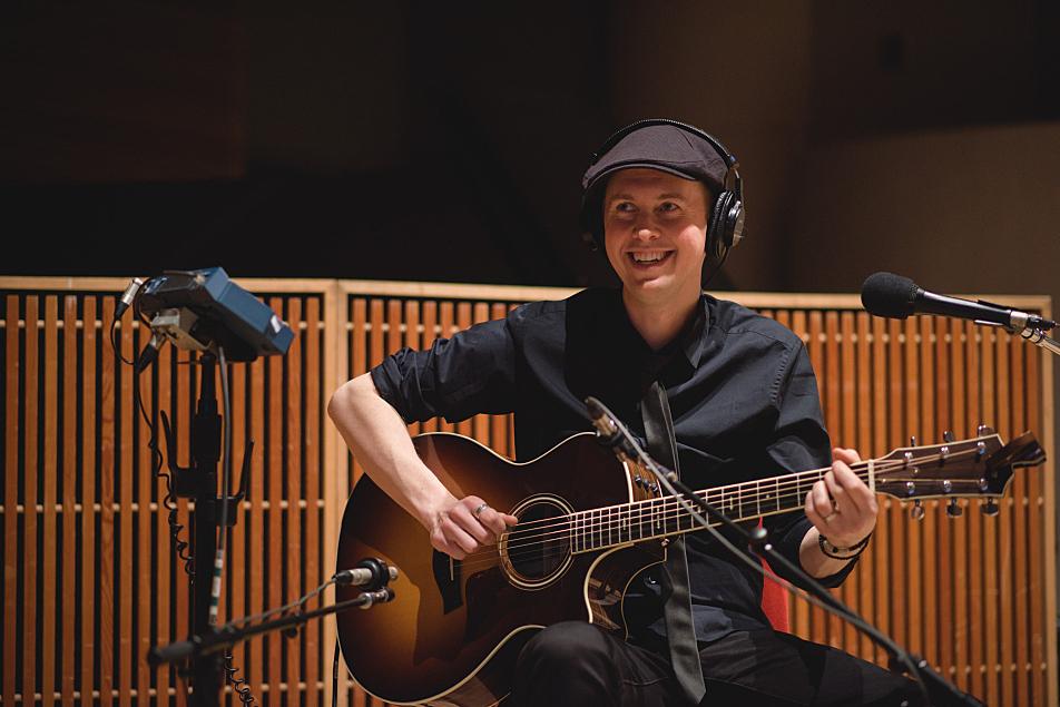 Guitarist Dave Wood accompanies Andra Day.