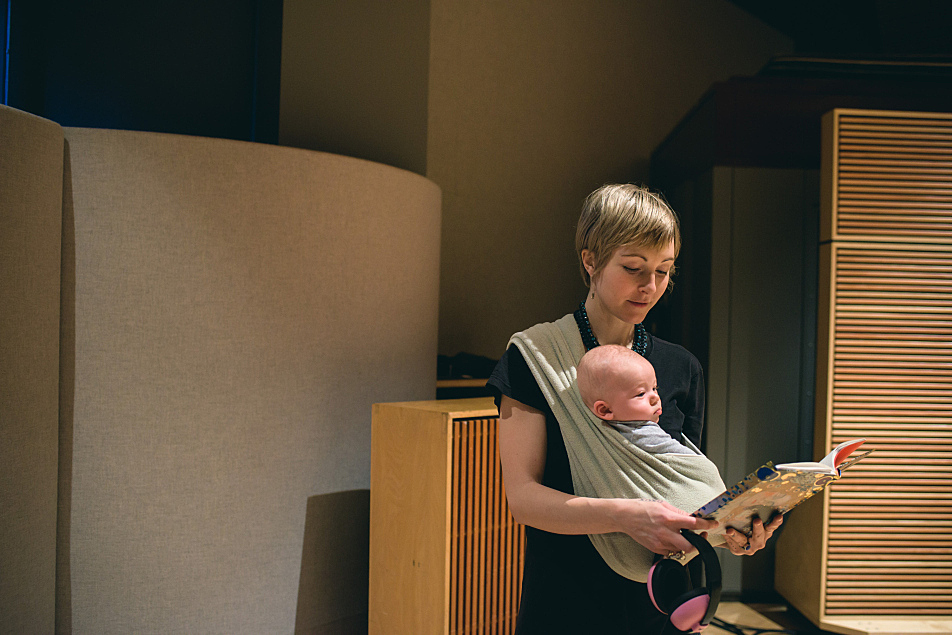 Channy Leaneagh of Polica in The Current's studio