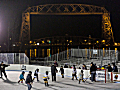 Each youth association got Bayfront rink time.