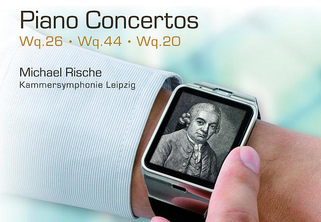 Carl Philipp Emanuel Bach - Piano Concerto in C: III. Allegro assai Hanssler D-73765