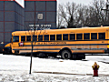 A St. Paul school bus crashed into parked cars.