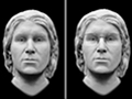 Artist's renderings of an unidentified man