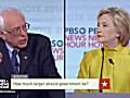Live: Clinton, Sanders debate