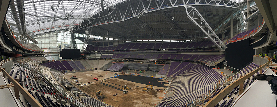 Vikings To Host Chargers Aug 28 In New Stadium S First