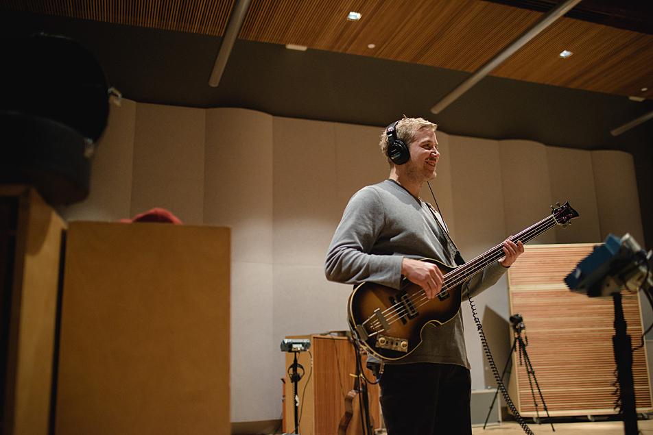 Kaleo bassist Danny Kristjansson