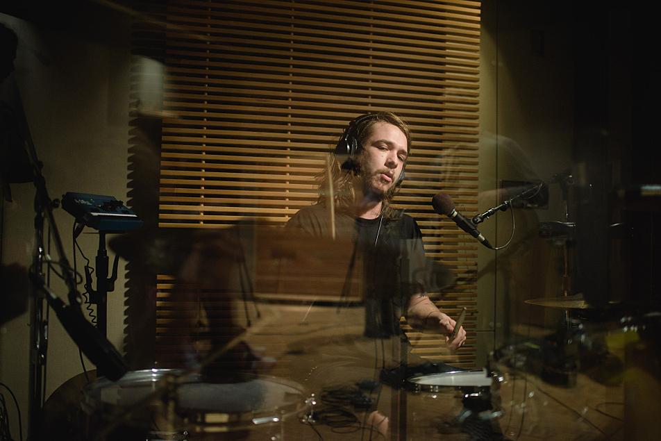 Kaleo drummer David Antonsson
