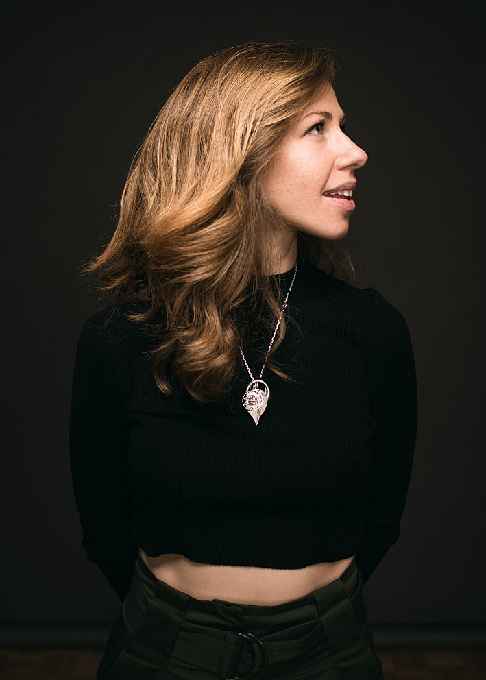 Portrait of Rachael Price of Lake Street Dive.