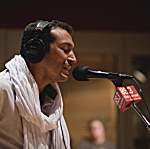 Bombino performing live in The Current studio