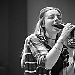 Lotti Bernardout of Haelos performs in The Current's studio.