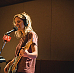 Bully's Alicia Bognanno performing live in The Current studio