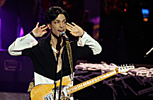 Prince at 36th NAACP Image Awards