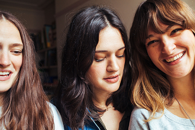 First Listen: The Staves, 'Sleeping In A Car'