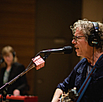 Gary Louris of the Jayhawks performing live in The Current studio