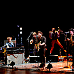 Nathaniel Rateliff and the Night Sweats performing at Northrop in Minneapolis, Tuesday, May 31, 2016.
