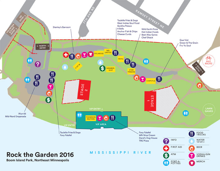 rock the garden 2016 essential info the current