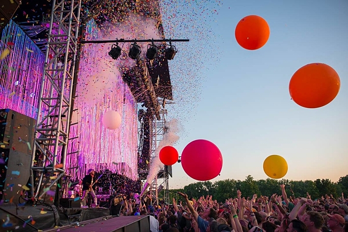 The Flaming Lips at Rock the Garden 2016