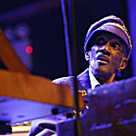 """Bernie Worrell performs at the Black Rock Coalition Presents: All The Woo In The World â€"""" An All-Star Celebration benefit concert on April 4 in New York City. The concert was raising money for Worrell's medical costs."""