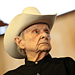 Ralph Stanley at the Stagecoach Country Music Festival in 2012.