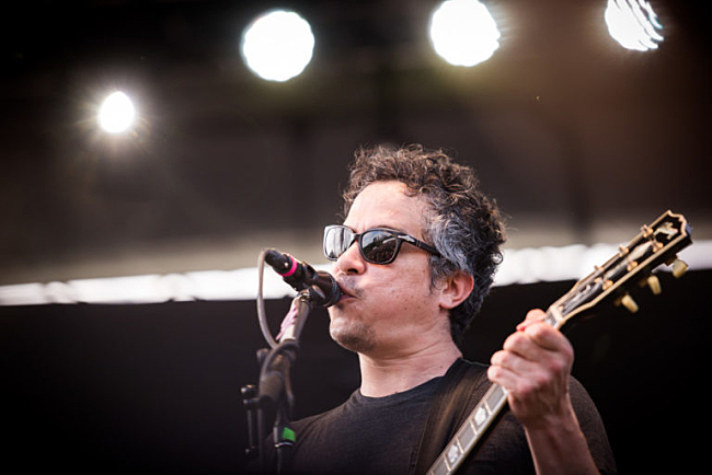 M. Ward performs at Rock the Garden 2016