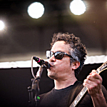 M. Ward performing live at Rock the Garden 2016