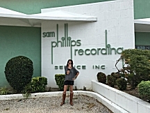 Mary Lucia at Sam Phillips Recording Services