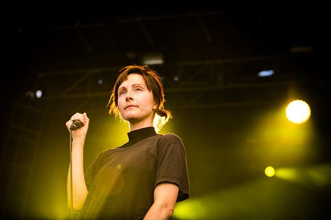 Polica perform at Rock the Garden 2016