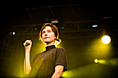 Polica perform at Rock the Garden 2016