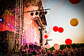 The Flaming Lips perform at Rock the Garden 2016