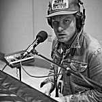 Frankie Lee performing live in The Current studio