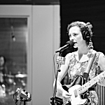 Esme Patterson performs in The Current studio. Patterson plays an ESP Ronnie Wood model guitar.