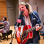 Kyle Craft performing live in The Current studio