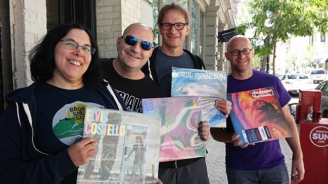 Record Shopping in Winnipeg. CREDIT: Jim McGuinn